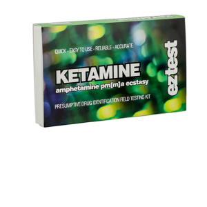 EZ Test Kit for Ketamine, PMA/PMMA, Amphetamine and Ecstasy (MDMA)