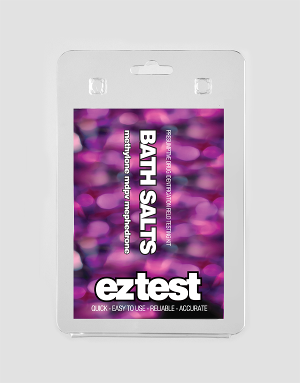 EZ Test Blister for Bath Salts: mephedrone, methylone and MDPV
