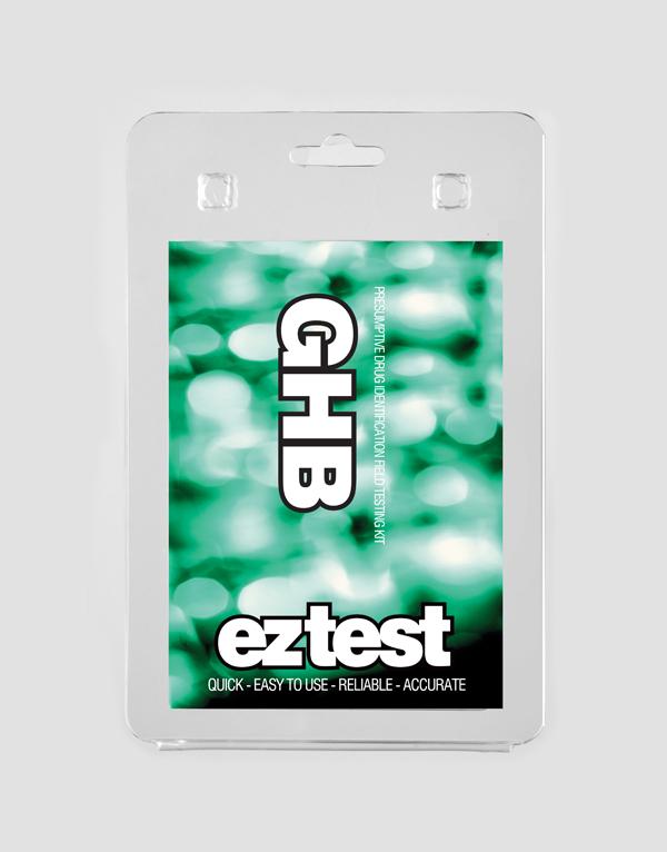 EZ Test Blister for GHB
