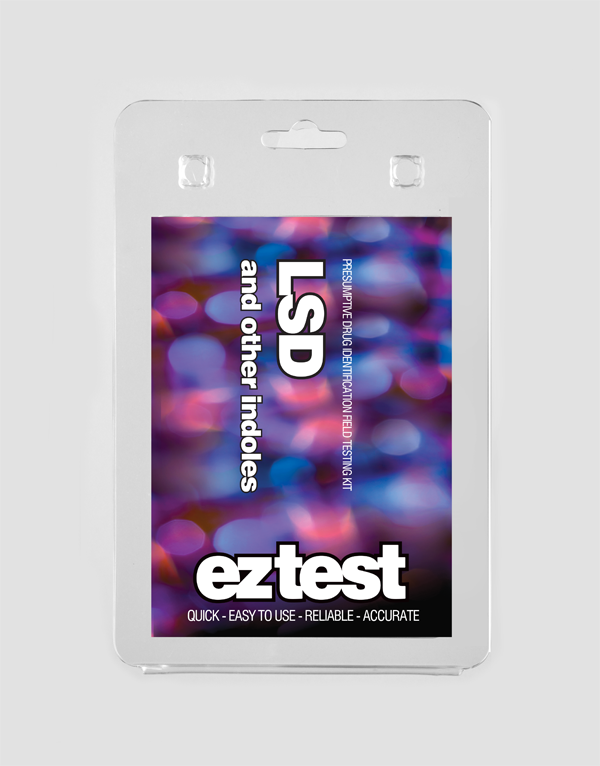 EZ Test Blister for LSD and other Indoles