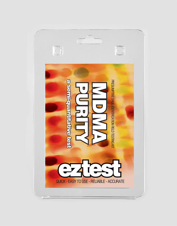 EZ Test Blister for MDMA Purity