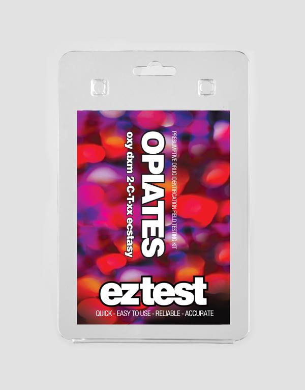 EZ Test Blister for Opiates, DXM and Ecstasy