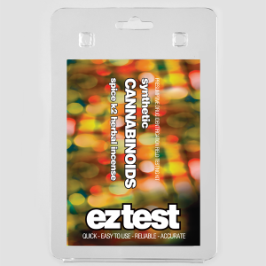 EZ Test Blister for Synthetic Cannabinoids: Spice, K2 and Herbal Incense