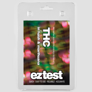 EZ Test Blister for THC in Hash and Marihuana